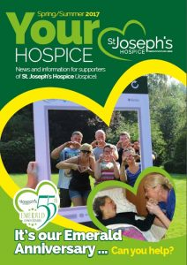 News March 2017 St. Joseph's Hospice Magazine